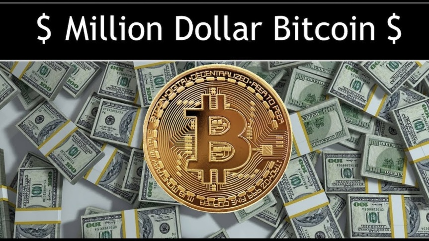 One BTC = $1,000,000 by June 2018 ?
